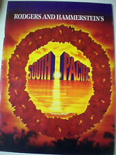 Aust SOUTH PACIFIC PROGRAM + TICKET - ADELAIDE FESTIVAL  1994 Music Theatre