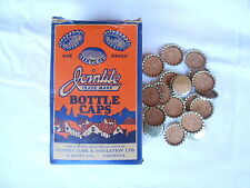 Vintage Canadian Jointite Bottle Caps Cork Decoration House Bar Wine Beer Pub