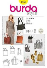 BURDA SEWING PATTERN Chic and trendy shopping bags  7158