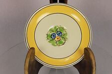 Vintage Adams Titian Ware Hand Painted Art Deco Saucer Egg Cup Plate