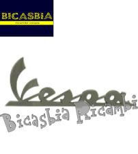 6840 TARGHETTA FIANCATA LATERALE GRIGIO SCURO VESPA 125 300 GTS SUPER SPORT