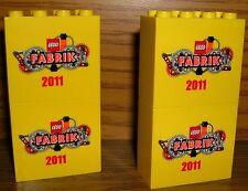 LEGO Fabrik Sonderstein 2011 4 Stück