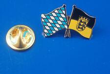 Freundschaftspin Bavière Bade-wurtemberg pin button Badge