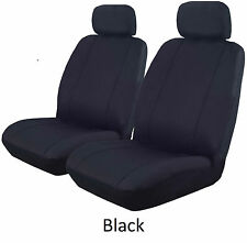 CUSTOM 16oz WATERPROOF CANVAS SEAT COVERS FULL CAR PACK SUBARU BRUMBY
