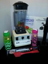 VITAMIX SUPER 5000 / 5200 NEW CONTAINER, NEW TAMPER,RUNS PERFECT +SMOOTHIE PKG