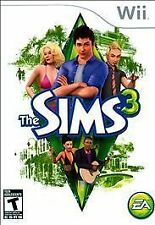 The Sims 3 (Nintendo Wii, 2010) Includes Case and Game Only! Tested & Working