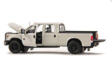 "Ford F250 Pickup Truck - Crew Cab - 6 Ft Bed - ""WHITE"" - 1/50 - Sword #SW1200W"