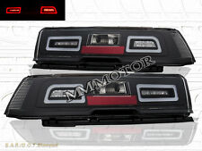 "2014-2015 Chevrolet Camaro Pair ""L.E.D."" Tail lights Black"