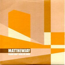 MATTHEW JAY - PLEASE DON'T SEND ME AWAY - RARE 2001 PROMO CD SINGLE - CARD COVER