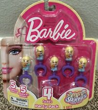 Squinkies 5 Rings Barbie Series 4 Party Pack Party Favors NIP