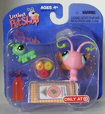 Littlest Pet Shop Target exclusive retired butterfly & caterpillar