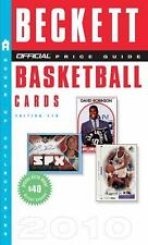 Beckett Official Price Guide to Basketball Cards 2010, Edition #19-ExLibrary