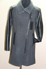 *NEW Marc New York Andrew Marc Women's Assymetrical Peacoat Charcoal/blk 12 #762