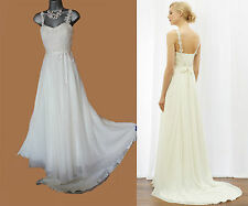 MONSOON Ivory Olivia Classic Romantic Bridal Wedding Maxi Dress UK 10  38  £299
