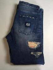 THE HUNDREDS CLOT 100% Cotton Slim Jeans Factory Distressed Men's Size 36