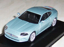 JAGUAR XK COUPE -BLUE 1;43 DIECAST MODEL CAR IN DISPLAY CASE NEW BOYS TOYS GIFT