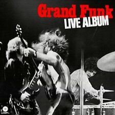 Live Album [US Remastered] [Remaster] by Grand Funk Railroad (CD, Aug-2002,...