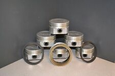 MARINE Ford 302 5.0L OHV V8 - DISH TOP PISTONS & MOLY RINGS