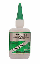 Mark Twain Hobby CA Remover/Un-Cure 1 oz Bottle 161 MTW161
