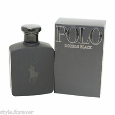 POLO DOUBLE BLACK BY RALPH LAUREN MEN FRAGRANCE 4.2 OZ EDT SPRAY NEW IN BOX