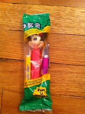 Vintage Walt Disney Minnie Mouse Fun N Game Pez Dispenser & candy sealed New Toy
