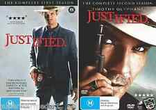 Justified : Season 1 & 2 : NEW DVD