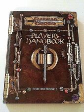 Dungeons & Dragons Players Handbook Core Rulebook 1 Hardcover No CD