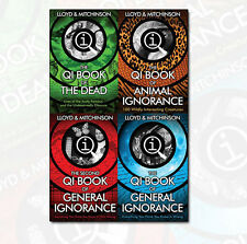 QI Books Collection John Lloyd & Mitchinson 4 Books Set General Ignorance NEW PB