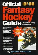 The Official Nhlpa Fantasy Hockey Guide: The Definitive Hockey Pool Reference,
