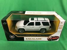 Lollipop Toys 1/24 Cadillac Escalade White Pull Back Friction Car