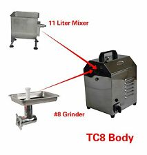 Hakka Multi-functional Commercial Meat Mixer and Meat Grinder Machines TC8+FME01