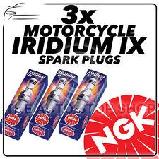 3x NGK Iridium IX Spark Plugs for TRIUMPH 1050cc Speed 94, 94R 04/15-  #4218