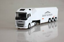 Eligor 1:87 volvo 750 FH4 eif car model in white container truck alloy