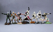 Hasbro Star Wars 1:32 Toy Soldier Figure Clone Trooper Stormtrooper Set S65toS71