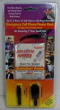 Flash Emergency Cell Phone Power Pack For Nokia, Motorola, Samsung, NEW SEALED