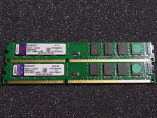 KINGSTON KVR1333D3N9/4G PC10600 DDR3 RAM 8GB ( 2x 4GB ) #R2574