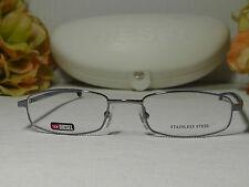 Diesel Kloan V27 Ruthenium/Purple Frame Eye Glasses 49-18-135***Italy***NIB***