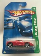 HOT WHEELS TREASURE T HUNT ENZO FERRARI BLACK SEATS VARIATION 2007 RARE VHTF NEW
