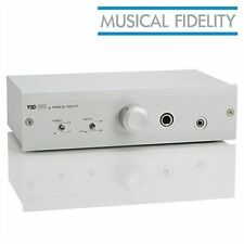 Musical Fidelity V90 HPA Headphone AMP new in box silver color UK plug