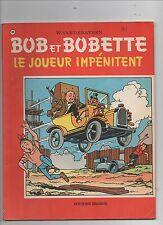 Bob et Bobette n°135. Le joueur impénitent. ERASME 1972 VANDERSTEEN