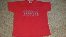 Boys Red t-shirt, age 3-4, Reindeer, Finland