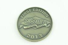 Sig Sauer Pistol Handgun Custom Shop COLLECTOR Coin Medallion (RARE) Gun Part