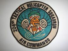 US 206th Tactical Helicopter Squadron AIR COMMANDO Vietnam War Patch