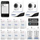 KERUI Wireless WiFi IP Camera Alarm System for Home office Burglar Security 720P