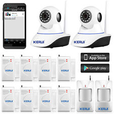 KERUI Wireless WiFi IP Camera Alarm System for Home House Burglar Security 720P