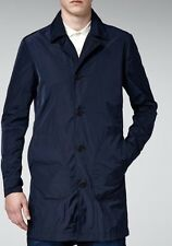G-Star James Navy Mac Coat Small BNWT