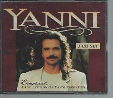 YANNI Enraptured A Collection of Favorites 1997 Oop 3 CD Box Set Rare SHIPS FREE