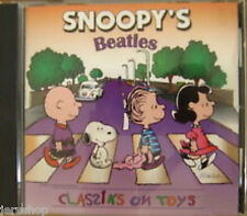 Snoopy's Beatles Classiks On Toys Cd Album (2000) Peanuts Songs Rare Music  New