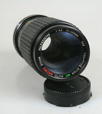 75-200MM F 4.5 FOR CANON FD MOUNT W/REAR CAP