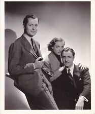 JOAN CRAWFORD WILLIAM POWELL ROBERT MONTGOMERY HURRELL Stamp MGM Portrait Photo